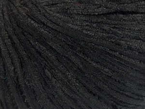 Fiber Content 100% Polyester, Brand ICE, Black, Yarn Thickness 1 SuperFine  Sock, Fingering, Baby, fnt2-63195