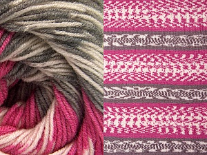 Fiberinnehåll 70% Akryl, 30% Ull, Pink, Brand ICE, Grey, Cream, Yarn Thickness 3 Light  DK, Light, Worsted, fnt2-63208
