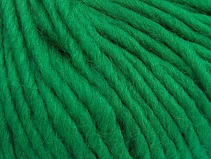 Contenido de fibra 100% Lana, Brand ICE, Green, Yarn Thickness 5 Bulky  Chunky, Craft, Rug, fnt2-63344