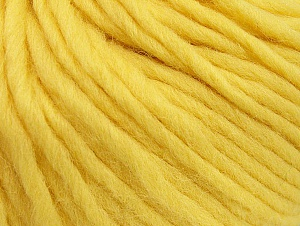 Contenido de fibra 100% Lana, Light Yellow, Brand ICE, Yarn Thickness 5 Bulky  Chunky, Craft, Rug, fnt2-63347