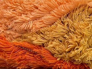 Fiber Content 95% Acrylic, 5% Polyester, Orange, Olive Green, Light Salmon, Brand ICE, Copper, fnt2-63390