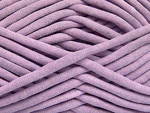 Fiberinnehåll 60% Polyamid, 40% Bomull, Light Lilac, Brand ICE, Yarn Thickness 6 SuperBulky  Bulky, Roving, fnt2-63441