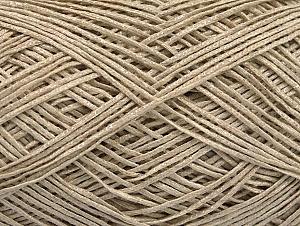 Fiber Content 60% Cotton, 28% Viscose, 10% Polyamide, Light Beige, Brand ICE, fnt2-63554