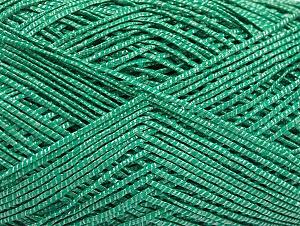 Fiber Content 60% Cotton, 28% Viscose, 10% Polyamide, Brand ICE, Emerald Green, fnt2-63564
