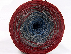 Fiber Content 50% Acrylic, 50% Cotton, Jeans Blue, Brand ICE, Grey, Burgundy, fnt2-63677