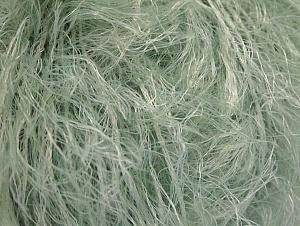 Fiber Content 100% Polyamide, White, Mint Green, Brand ICE, fnt2-63979