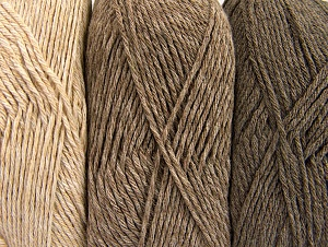 Fiber Content 90% Acrylic, 10% Polyester, Brand ICE, Cream, Camel, Beige, fnt2-64018