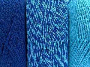 Fiber Content 90% Acrylic, 10% Polyester, Turquoise, Brand ICE, Blue, fnt2-64022