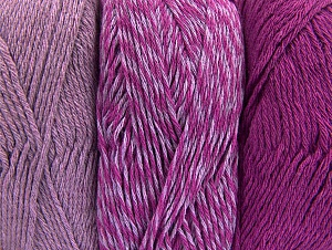 Fiber Content 90% Acrylic, 10% Polyester, Lilac, Brand ICE, Fuchsia, fnt2-64023