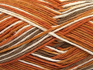 Fiberinnehåll 100% Bomull, Brand ICE, Gold, Cream, Brown, fnt2-64035