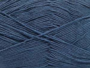 Fiber Content 55% Cotton, 45% Acrylic, Navy, Brand ICE, fnt2-64140