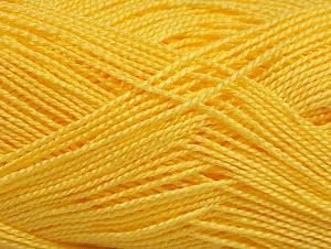 Contenido de fibra 100% Acrílico, Yellow, Brand ICE, fnt2-64151