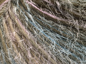 Fiber Content 45% Polyamide, 30% Wool, 25% Acrylic, White, Lilac, Khaki, Brand ICE, Blue, fnt2-64154