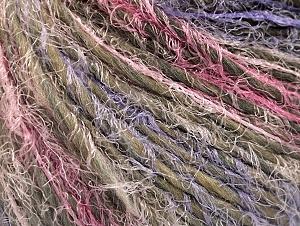 Fiber Content 45% Polyamide, 30% Wool, 25% Acrylic, Pink, Lilac, Khaki, Brand ICE, fnt2-64156
