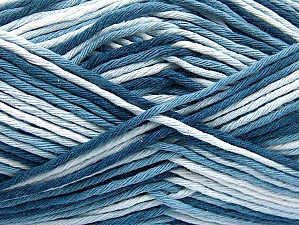 Fiber Content 100% Cotton, Brand ICE, Blue Shades, fnt2-64186