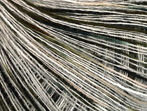 Fiber Content 50% Acrylic, 50% Wool, White, Brand ICE, Grey, Green, Black, fnt2-64229