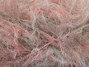 White, Salmon, Brand ICE, Grey, Yarn Thickness 6 SuperBulky  Bulky, Roving, fnt2-64238