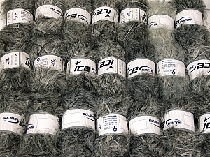 Eyelash Blends This mixed lot includes a total of 2000 gr (70.5 oz.) yarn. There is no standard for ball weight. Also disregard any information on the labels. You will get what you see in the photo. Brand ICE, fnt2-64330