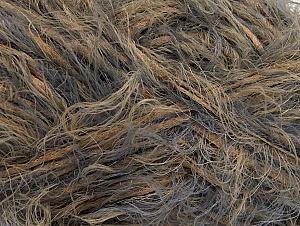 Fiber Content 50% Polyamide, 50% Acrylic, Brand ICE, Grey, Camel, fnt2-64391