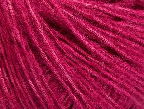 Fiber Content 67% Cotton, 33% Acrylic, Brand ICE, Fuchsia, fnt2-64406