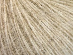 Fiber Content 30% Polyamide, 30% Acrylic, 20% Alpaca, 20% Wool, Brand ICE, Cream Shades, fnt2-64412