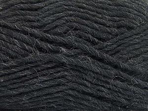 Fiber Content 100% Wool, Brand ICE, Anthracite Black, fnt2-64419
