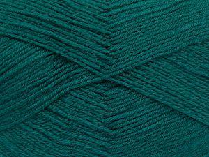 Fiber Content 60% Merino Wool, 40% Acrylic, Brand Ice Yarns, Emerald Green, fnt2-66050