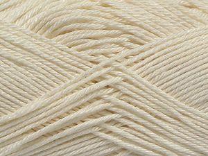 Fiber Content 100% Mercerised Cotton, Off White, Brand Ice Yarns, fnt2-66560