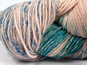 Fiber Content 90% Polyamide, 10% Cashmere, Turquoise, Powder Pink, Brand Ice Yarns, Green, Blue, fnt2-68729