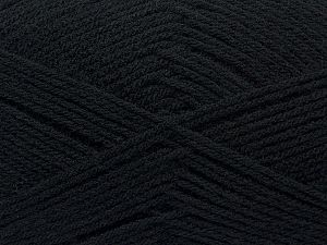 Fiber Content 100% Acrylic, Brand Ice Yarns, Black, fnt2-69999