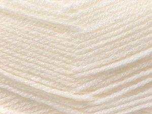 Fiber Content 100% Acrylic, White, Brand Ice Yarns, fnt2-70000