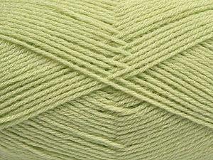 Fiber Content 100% Acrylic, Light Green, Brand Ice Yarns, fnt2-70012