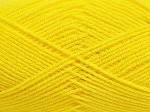 Fiber Content 100% Acrylic, Neon Yellow, Brand Ice Yarns, fnt2-70014