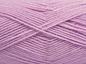 Fiber Content 100% Acrylic, Light Lilac, Brand Ice Yarns, Yarn Thickness 3 Light DK, Light, Worsted, fnt2-70038