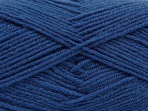 Fiber Content 100% Acrylic, Jeans Blue, Brand Ice Yarns, Yarn Thickness 3 Light DK, Light, Worsted, fnt2-70044