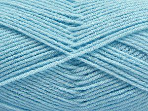 Fiber Content 100% Acrylic, Light Blue, Brand Ice Yarns, Yarn Thickness 3 Light DK, Light, Worsted, fnt2-70046