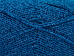Fiber Content 100% Acrylic, Turquoise, Brand Ice Yarns, Yarn Thickness 3 Light DK, Light, Worsted, fnt2-70048