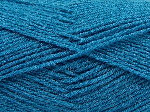 Fiber Content 100% Acrylic, Light Turquoise, Brand Ice Yarns, Yarn Thickness 3 Light DK, Light, Worsted, fnt2-70049
