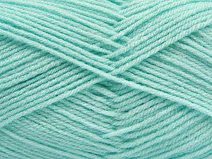 Fiber Content 100% Acrylic, Light Mint Green, Brand Ice Yarns, Yarn Thickness 3 Light DK, Light, Worsted, fnt2-70050