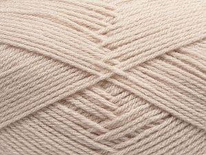 Fiber Content 100% Acrylic, Light Beige, Brand Ice Yarns, Yarn Thickness 3 Light DK, Light, Worsted, fnt2-70131