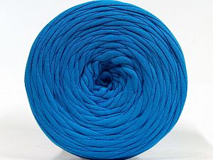 Make handbags,rugs,basket and cushion covers with this genius new-fashion yarn!<p>Since the yarn is made by upcycling fabrics, and because of the nature of the yarn; take the following notes into consideration. </p><ul><li>Fiber content information may vary. Information given about fiber content is approximate. </li><li>The yardage and weight information of the yarn is approximate. </li></ul> Fiber Content 95% Cotton, 5% Elastan, Brand Ice Yarns, Blue, fnt2-70296
