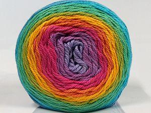 Fiber Content 100% Cotton, Rainbow, Brand Ice Yarns, fnt2-70930