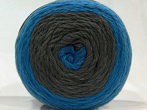 Fiber Content 100% Cotton, Brand Ice Yarns, Grey, Blue Shades, fnt2-71243