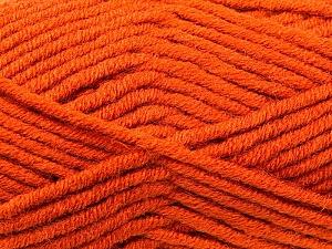 Fiber Content 50% Acrylic, 50% Merino Wool, Brand KUKA, Copper, Yarn Thickness 5 Bulky  Chunky, Craft, Rug, fnt2-16726