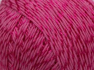 Fiber Content 70% Mercerised Cotton, 30% Viscose, Pink, Brand KUKA, Yarn Thickness 2 Fine  Sport, Baby, fnt2-16804
