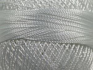 Fiber Content 100% Micro Fiber, Brand YarnArt, White, Yarn Thickness 0 Lace  Fingering Crochet Thread, fnt2-17304