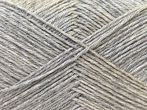 Fiber Content 60% Merino Wool, 40% Acrylic, Silver, Brand ICE, Yarn Thickness 2 Fine  Sport, Baby, fnt2-21095