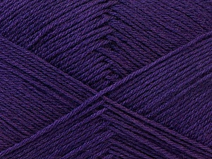 Fiber Content 60% Merino Wool, 40% Acrylic, Purple, Brand ICE, Yarn Thickness 2 Fine  Sport, Baby, fnt2-21107