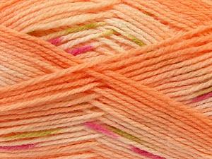 Fiber Content 100% Baby Acrylic, Pink, Light Orange, Brand ICE, Green, Yarn Thickness 2 Fine  Sport, Baby, fnt2-22040