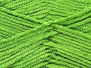 Fiber Content 100% Acrylic, Brand ICE, Green, Yarn Thickness 3 Light  DK, Light, Worsted, fnt2-22426